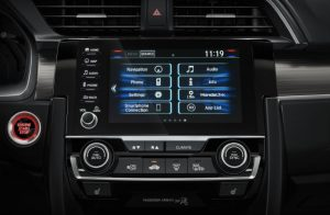 2019 Honda Civic Sedan infotainment center