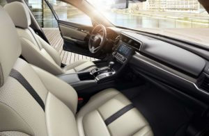 2019 Honda Civic Sedan front seats