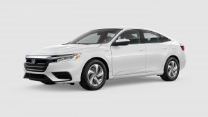 2019 Honda Insight in White Orchid Pearl