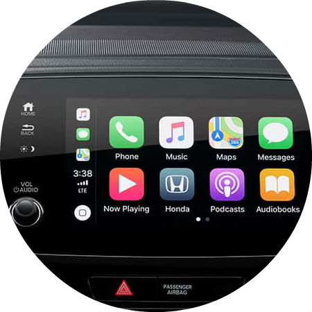 set  apple carplay    honda pilot