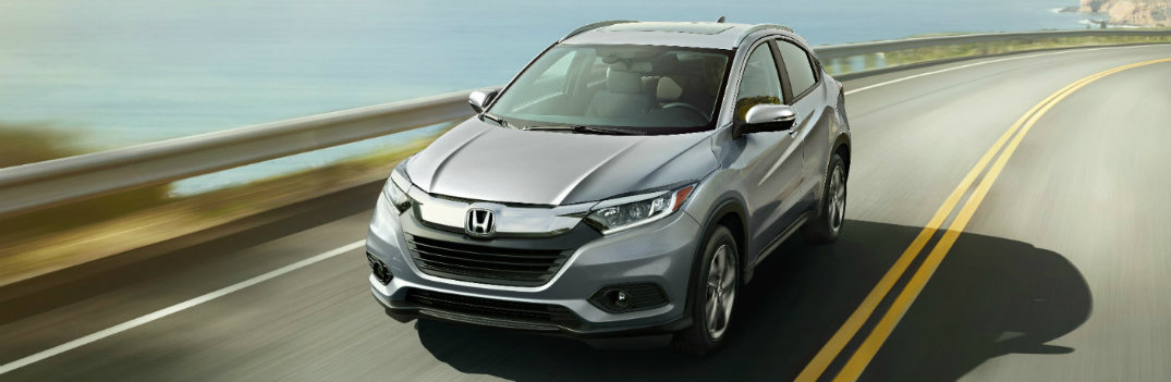 2019 Honda HR-V on the highway