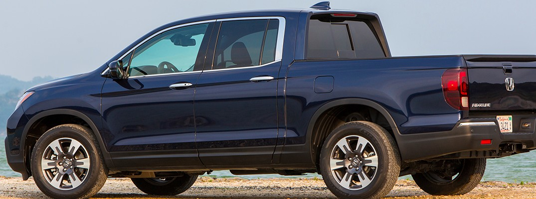 2019 Honda Ridgeline in blue