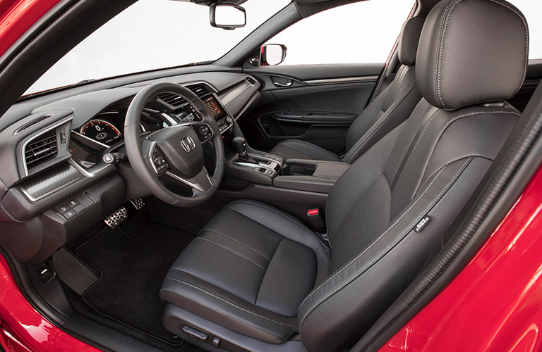 2019 Honda Civic Hatchback front seating