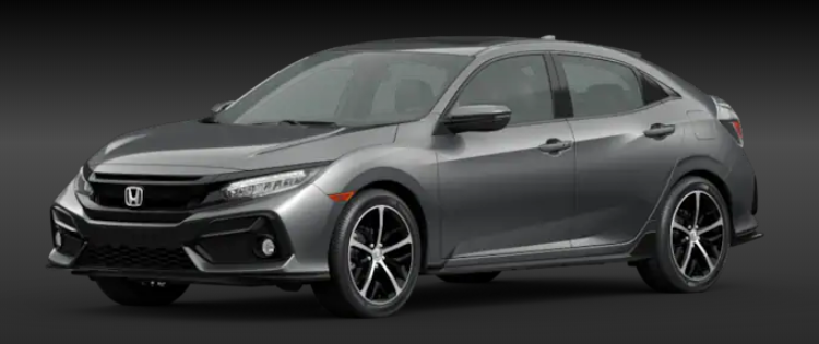 2020 Honda Civic Hatchback Polished Metal Metallic