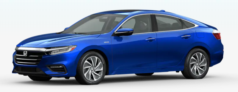 2020 Honda Insight Aegean Blue Metallic