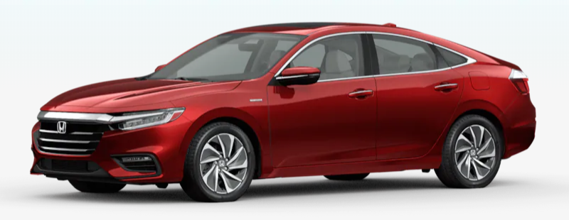 2020 Honda Insight Crimson Pearl