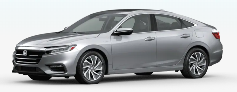 2020 Honda Insight Lunar Silver Metallic