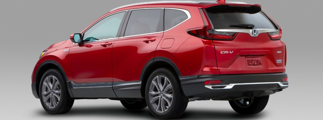 Introducing the 2020 Honda CR-V Hybrid Model!