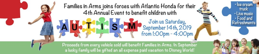 Atlantic Honda and Families in Arms Hold 4th Annual Charity Event