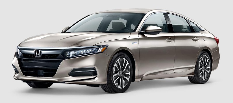 2020 Honda Accord Hybrid Champagne Frost Pearl