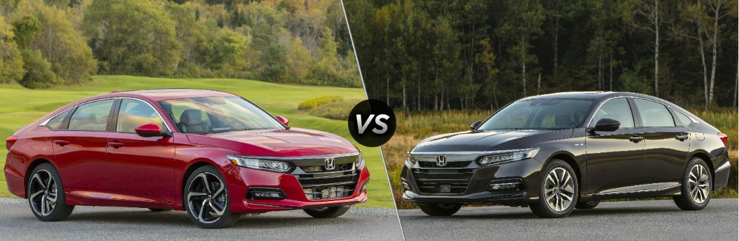 2020 Honda Accord vs 2020 Honda Accord Hybrid