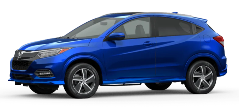 2020 Honda HR-V Aegean Blue Metallic