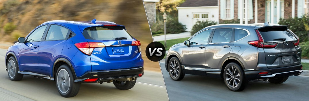 2020 Honda HR-V vs 2020 Honda CR-V