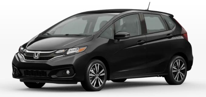 2020 Honda Fit Crystal Black Pearl