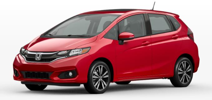 2020 Honda Fit Milano Red