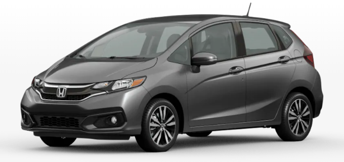 2020 Honda Fit Modern Steel Metallic