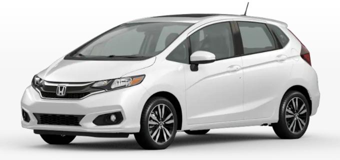 2020 Honda Fit Platinum White Pearl