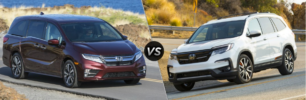 What are the Differences Between the 2020 Honda Odyssey and Pilot?