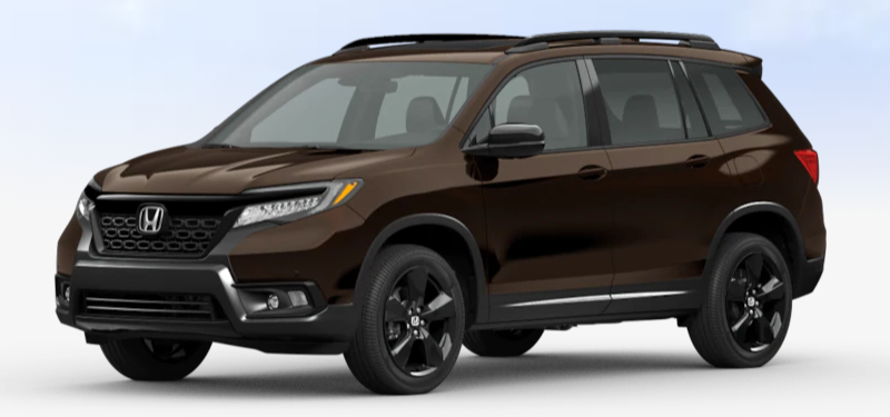 2020 Honda Passport Black Copper Pearl