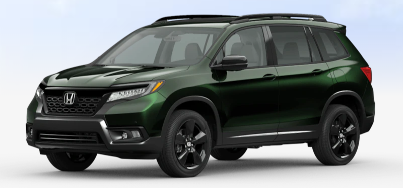 2020 Honda Passport Black Forest Pearl