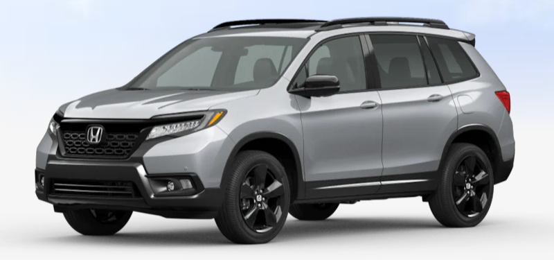 2020 Honda Passport Lunar Silver Metallic