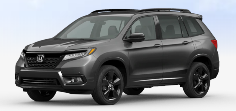 2020 Honda Passport Modern Steel Metallic