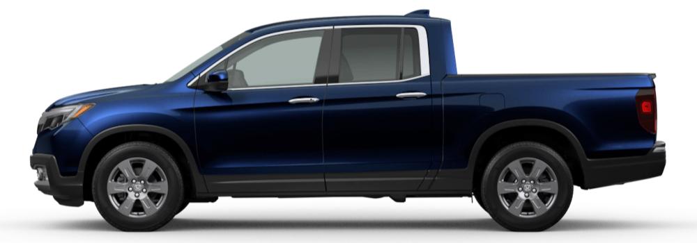 2020 Honda Ridgeline Obsidian Blue Pearl