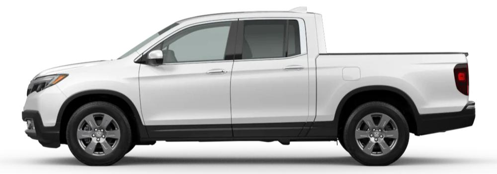 2020 Honda Ridgeline Platinum White Pearl