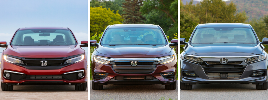 What are the Differences Between the 2020 Honda Civic, Insight, and Accord Sedans?