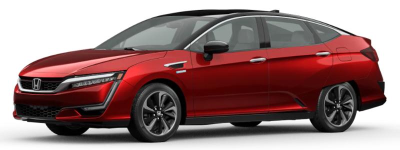 2020 Honda Clarity Fuel Cell Crimson Pearl
