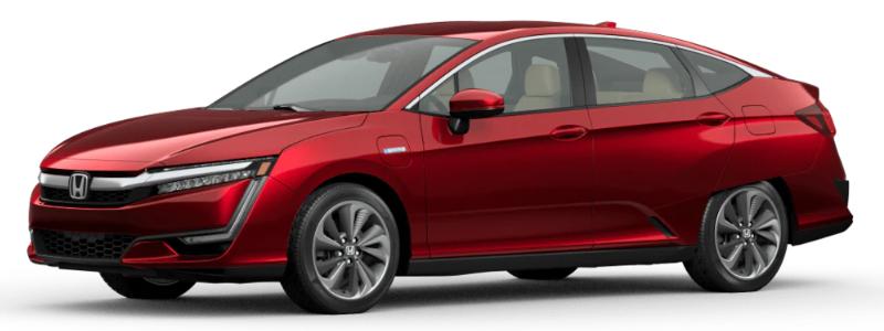2020 Honda Clarity Plug-In Hybrid Crimson Pearl