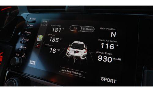 2020 Honda Civic Type R LogR pefromance datalogging app