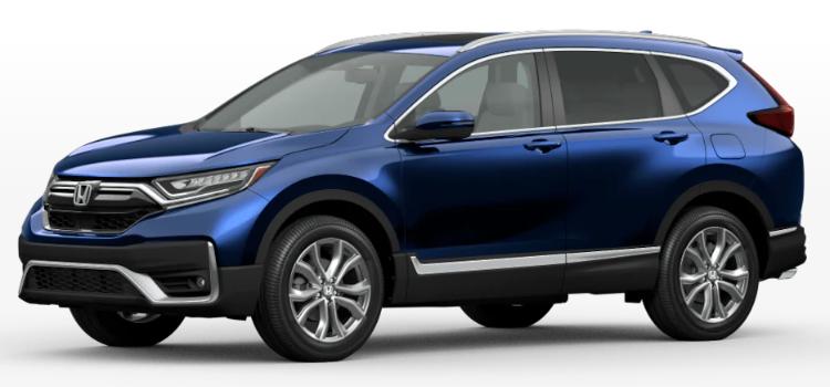 2020 Honda CR-V Hybrid Obsidian Blue Pearl