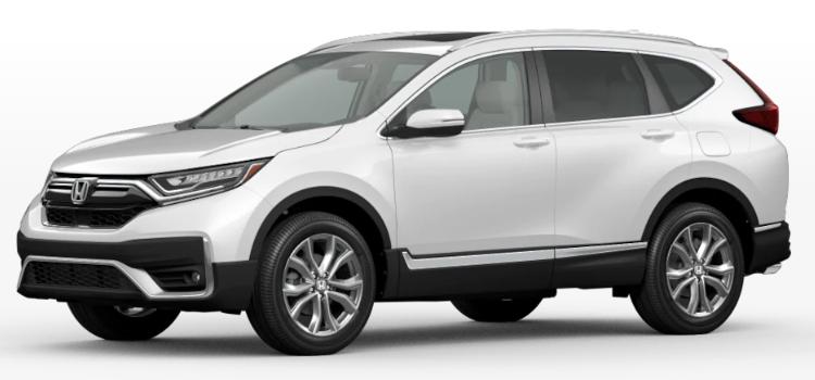 2020 Honda CR-V Hybrid Platinum White Pearl