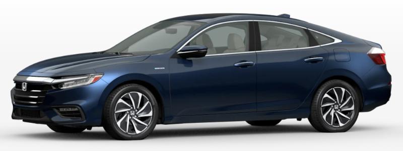 2021 Honda Insight Cosmic Blue Metallic