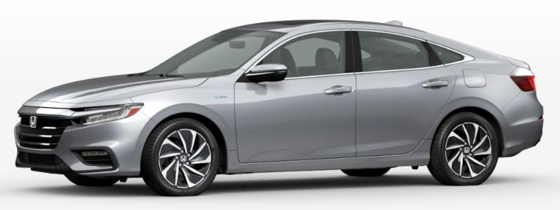 2021 Honda Insight Lunar Silver Metallic