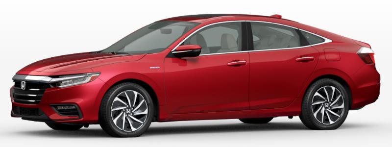 2021 Honda Insight Radiant Red Metallic