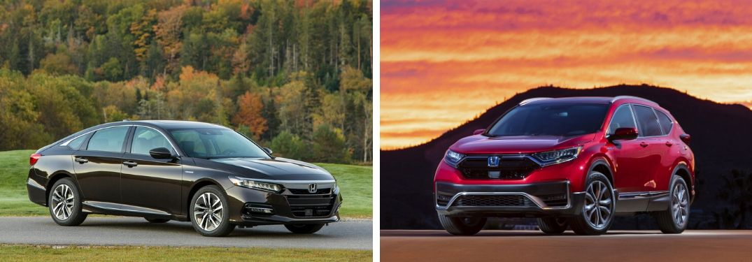 What are the Differences Between the 2020 Honda Accord Hybrid and CR-V Hybrid?