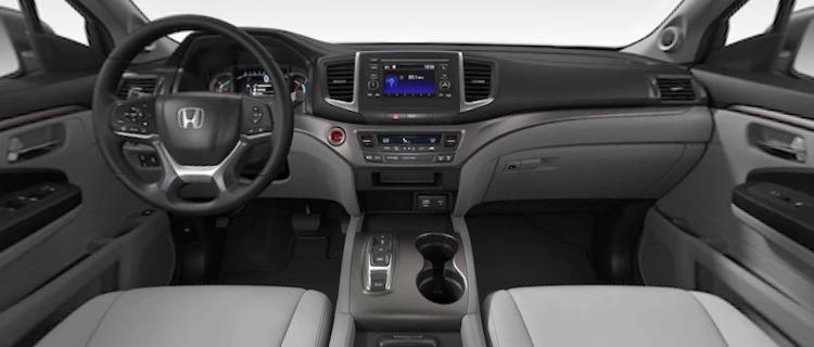 2021 Honda Pilot Gray Cloth