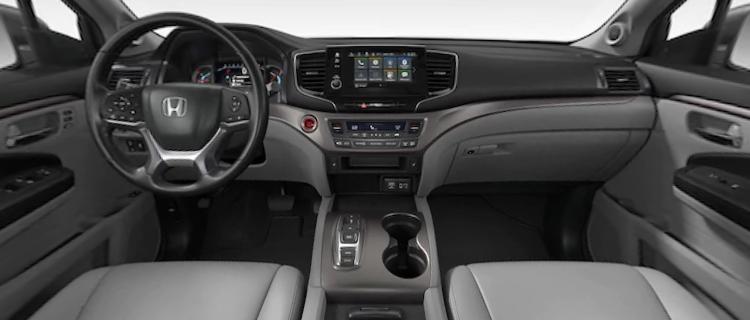 2021 Honda Pilot Gray Leather