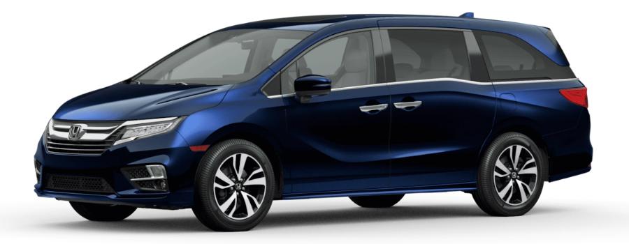 2021 Honda Odyssey Obsidian Blue Pearl