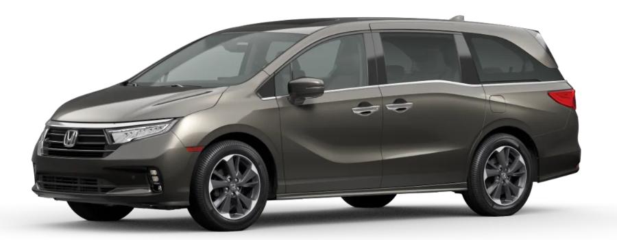 2021 Honda Odyssey Pacific Pewter Metallic