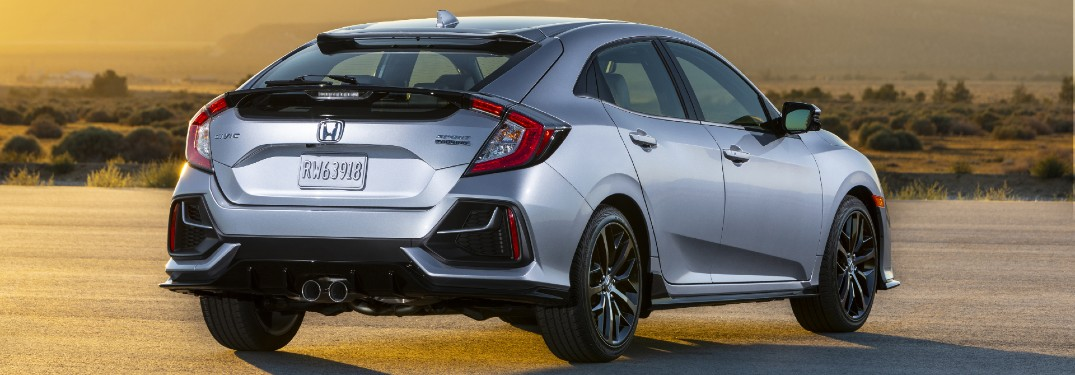 What are the Color Options of the 2021 Honda Civic Hatchback?