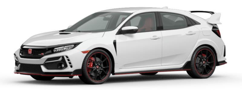 2021 Honda Civic Type R Championship White