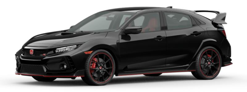 2021 Honda Civic Type R Crystal Black Pearl