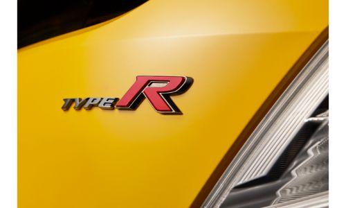 2021 Honda Civic Type R Limited Edition exterior closeup of model badging