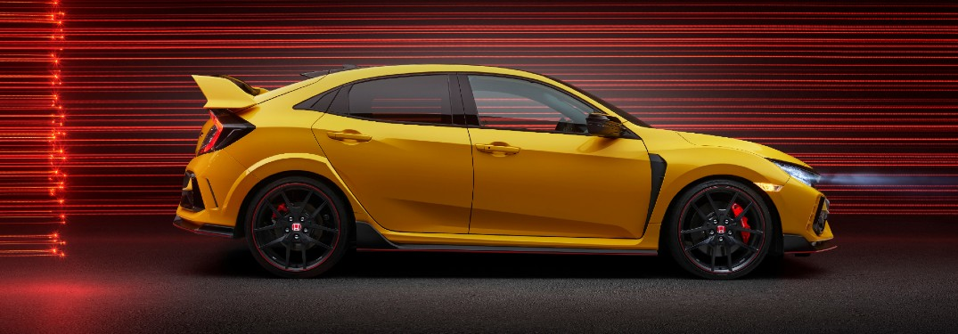 What are the Color Options of the 2021 Honda Civic Type R?