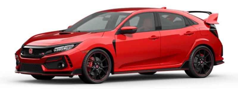 2021 Honda Civic Type R Rallye Red