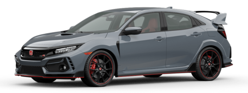 2021 Honda Civic Type R Sonic Gray Pearl