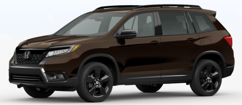 2021 Honda Passport Black Copper Pearl
